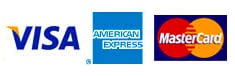 Accepts Visa Master Card American Express